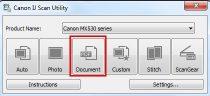 Software IJ Scan Utility